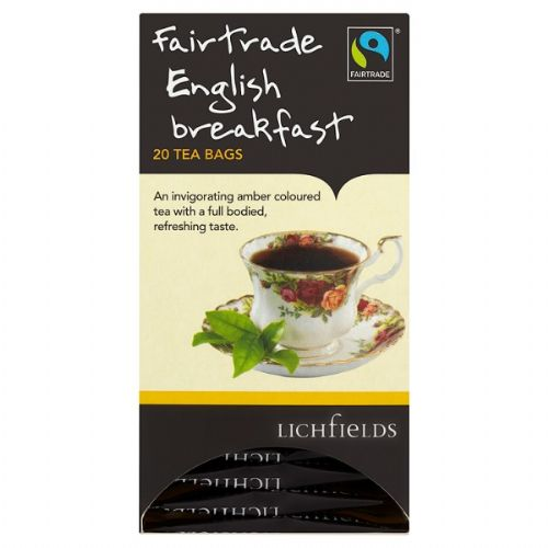 FAIRTRADE - Lichfields Assam teabags - bulk portions sachets online